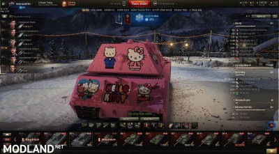 MAUS Hello kitty make by tankzorspro 1.6.6 [1.2.0], 3 photo